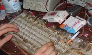 Keyboard burnts